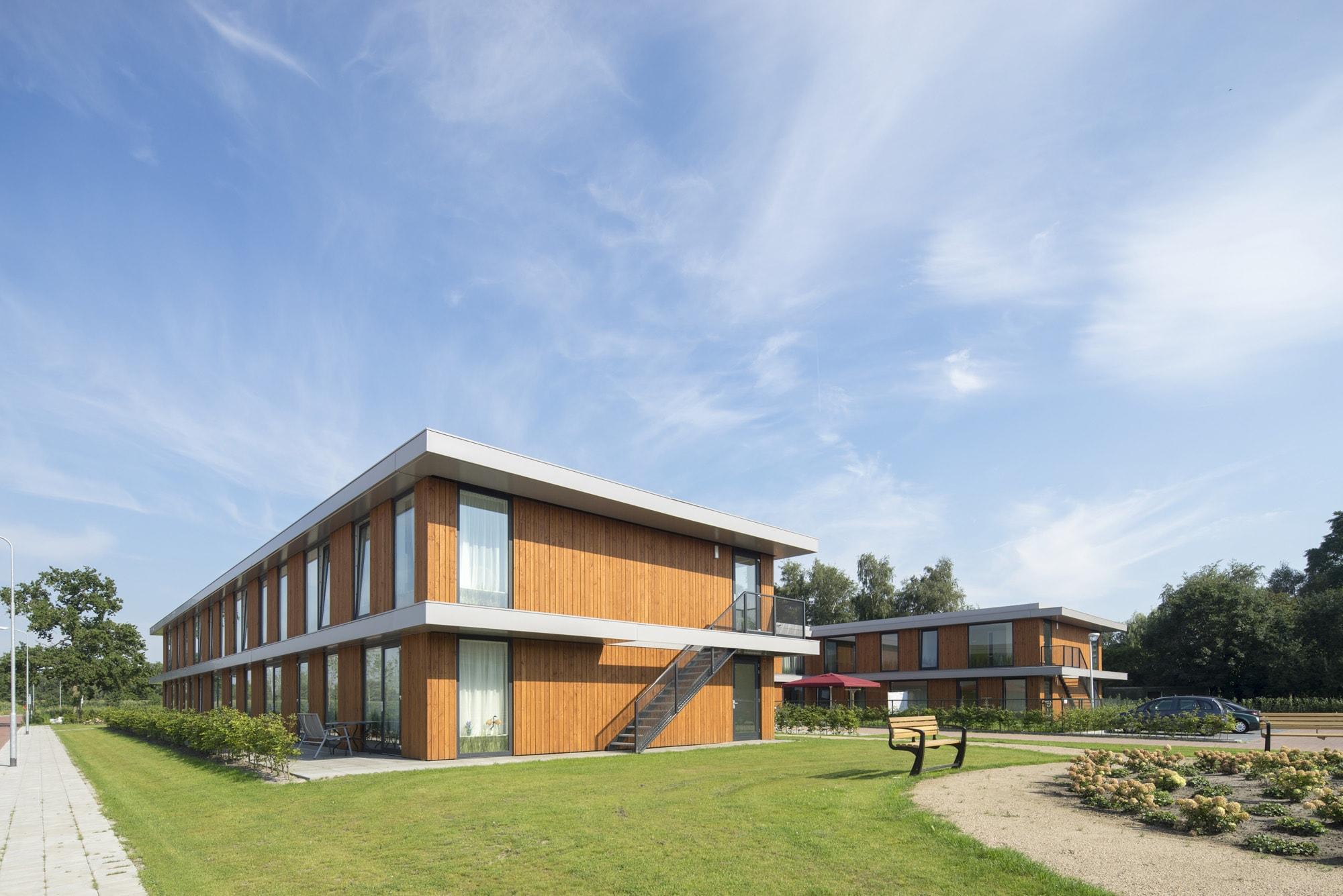 social housing project Kootwijkerbroek JMW architects