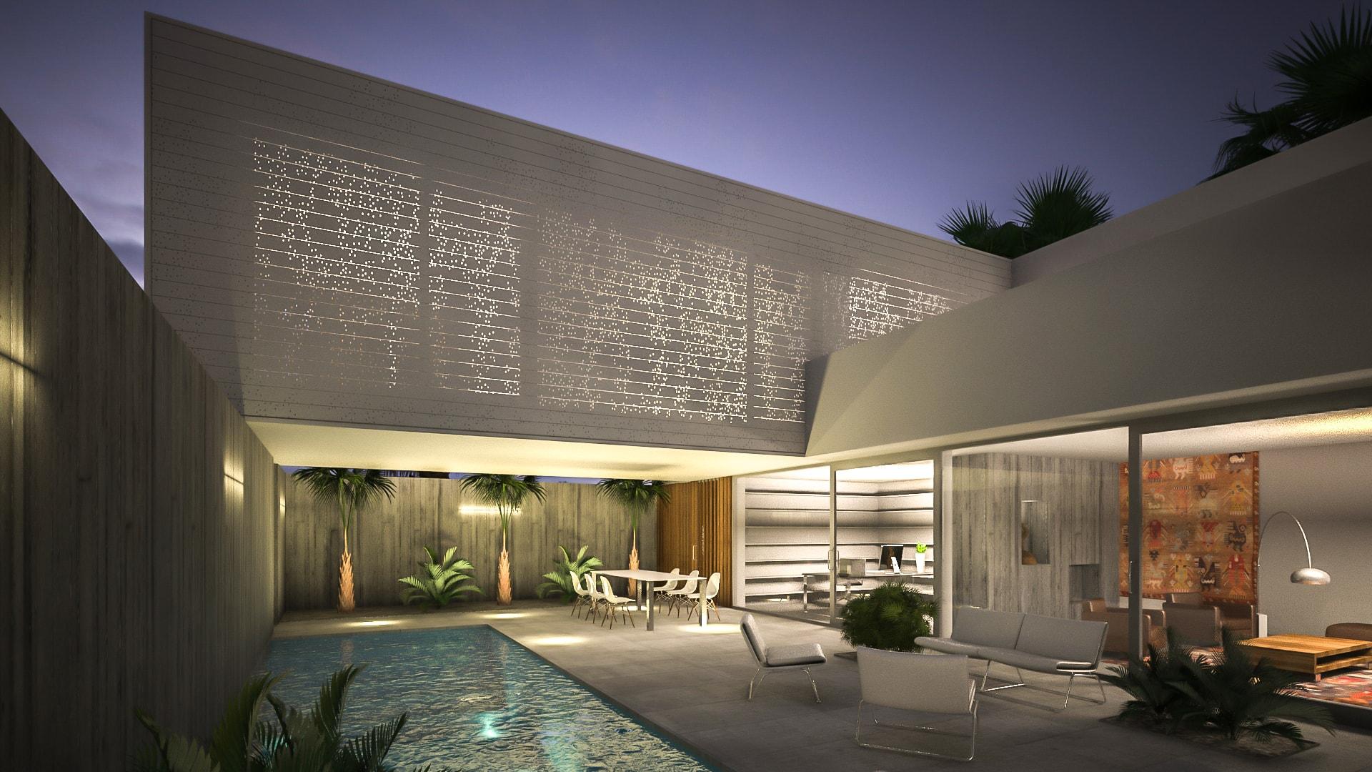 Santa Marta Colombia woonhuis en 3 appartementen JMW architecten