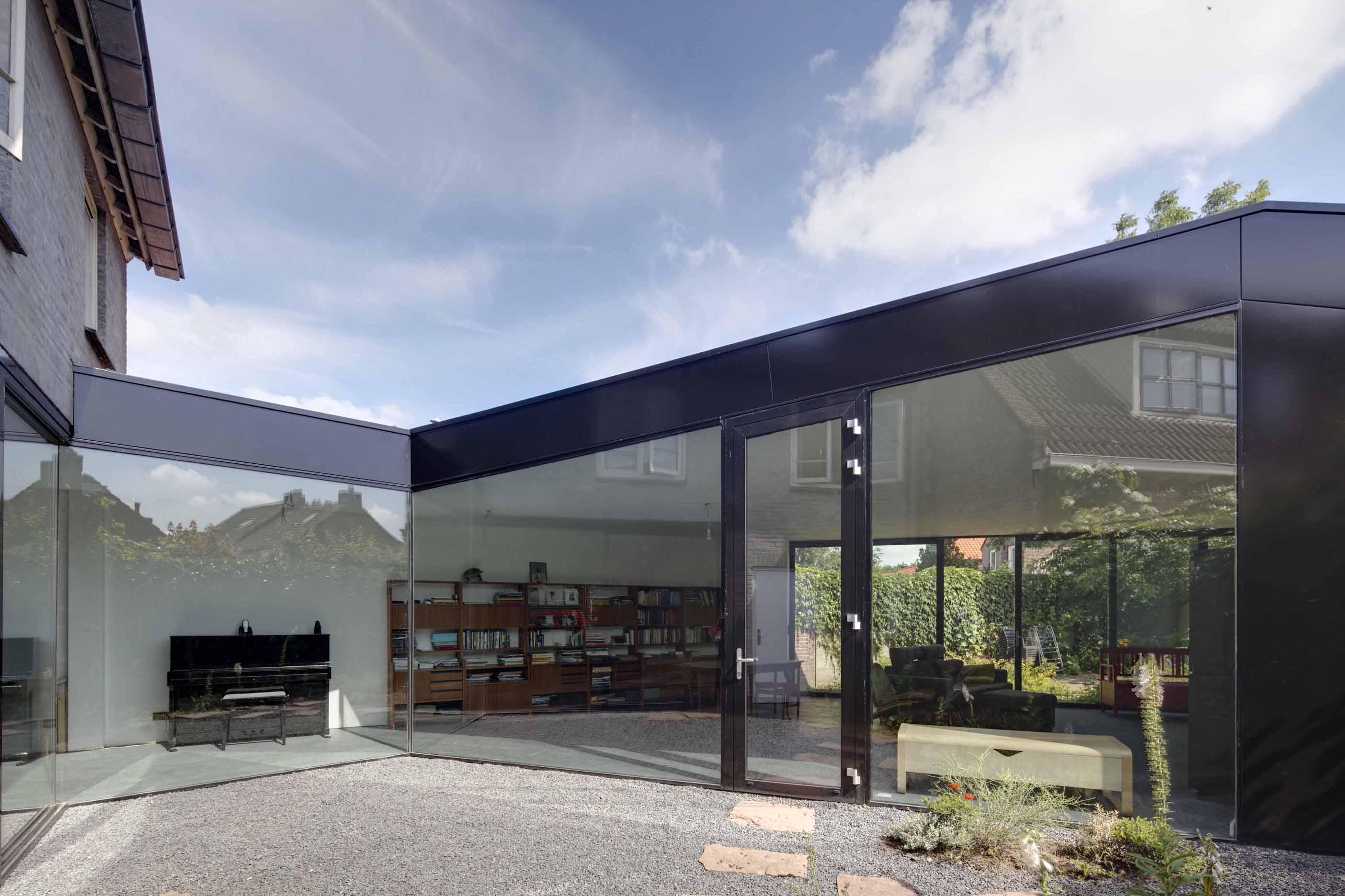 uitbreiding woonhuis Tilburg JMW architecten