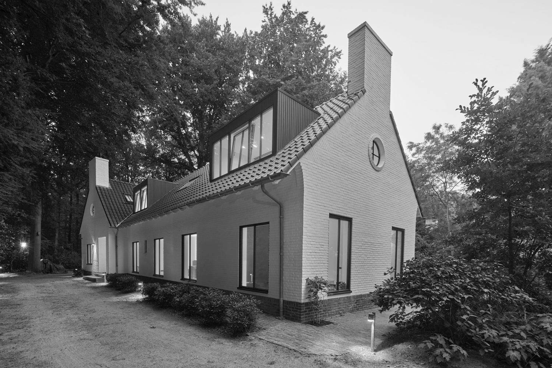 JMW architecten bosvilla Goirle