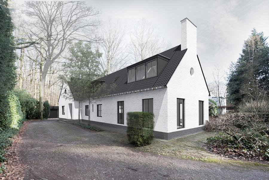 uitbreiding woonhuis Goirle JMW architecten