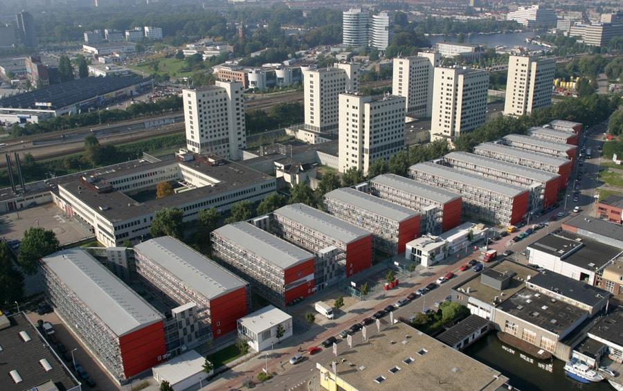 Keetwonen Amsterdam JMW architecten
