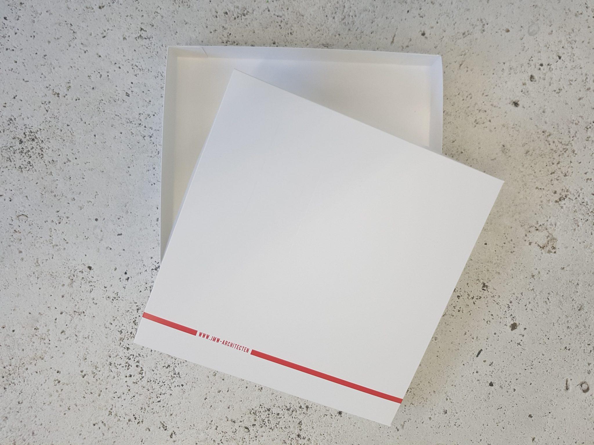 geschenkverpakking JMW architecten