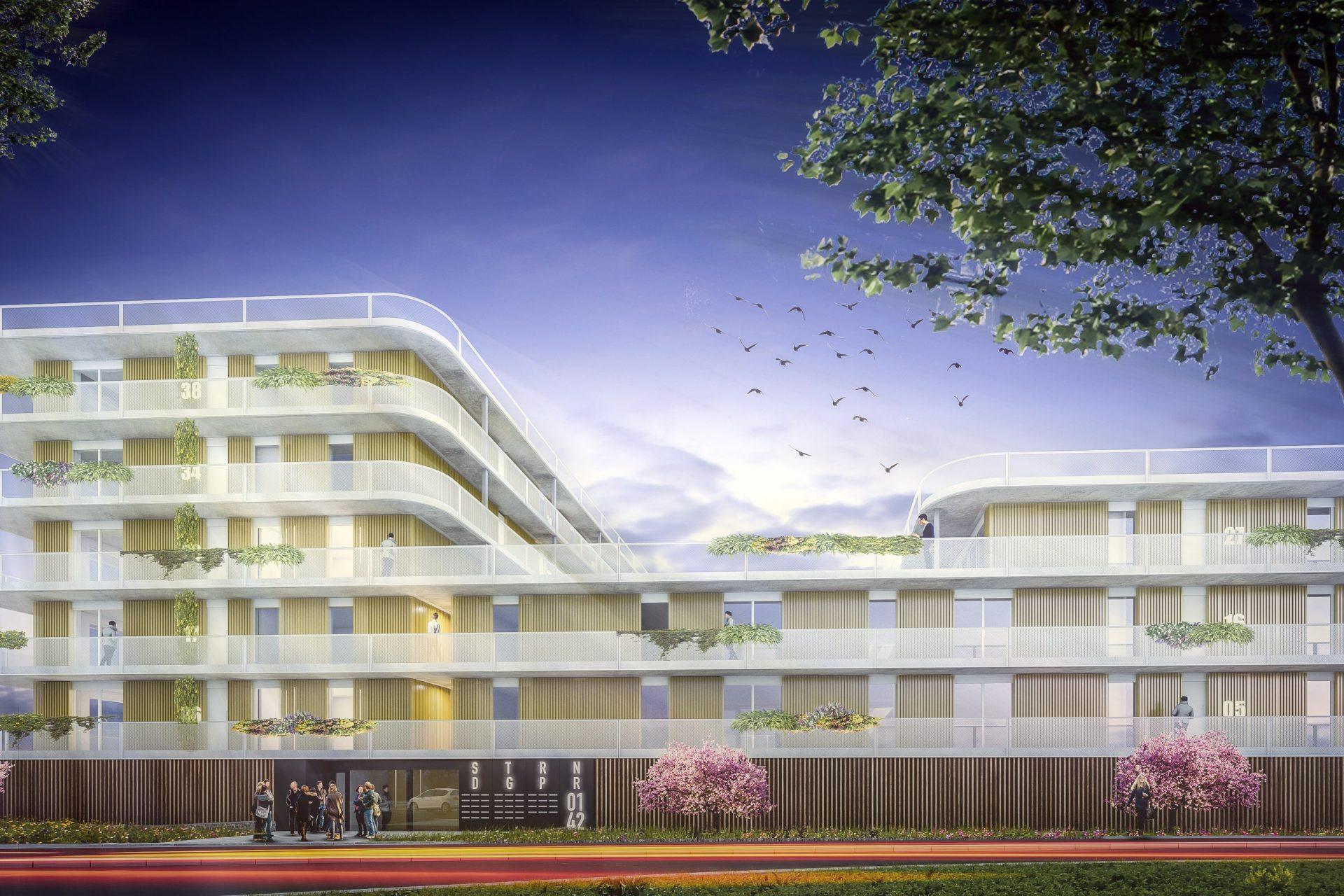 Strandgaper Bergen op Zoom JMW architecten