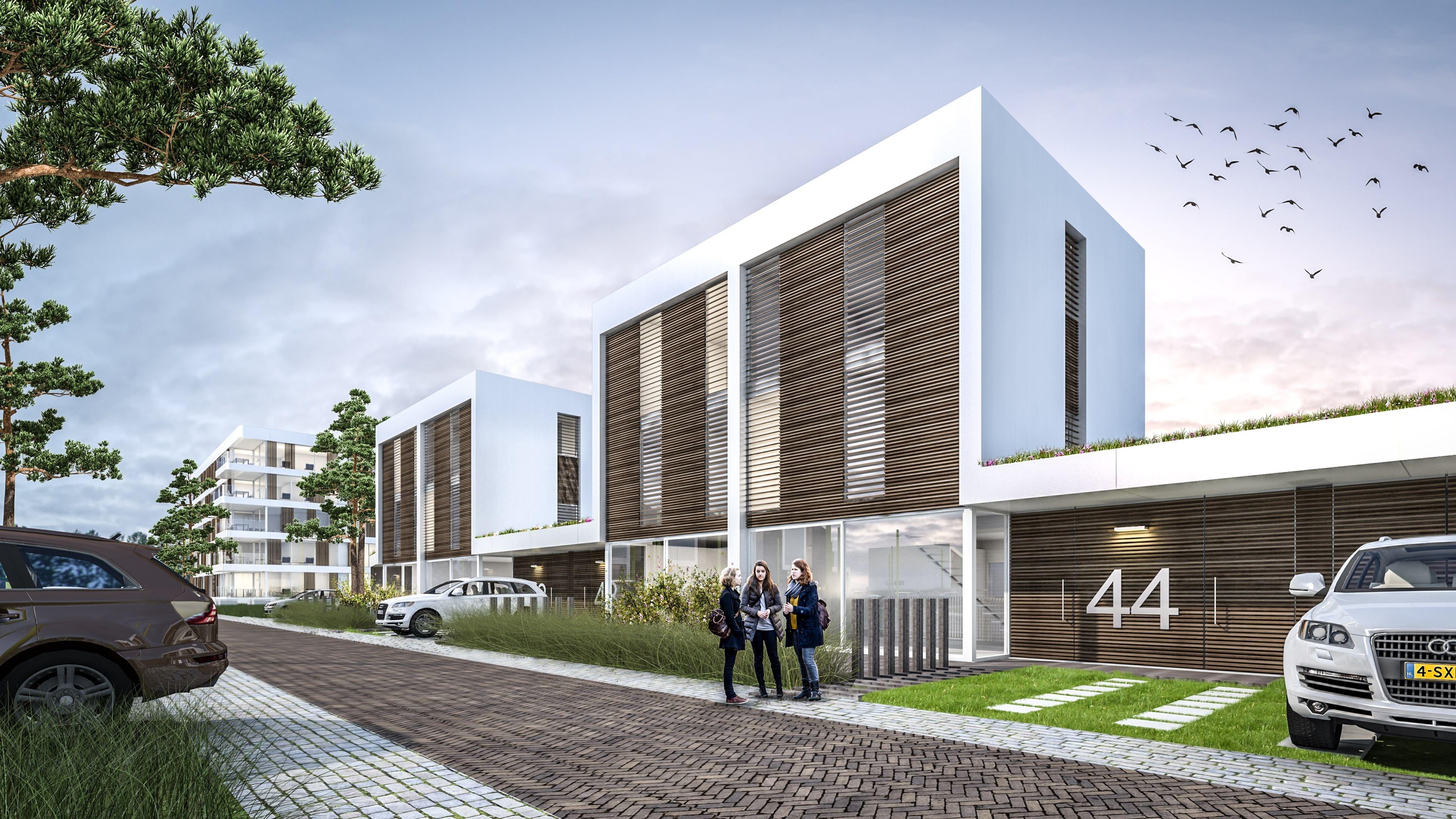 Strand Noord Nesselande Rotterdam JMW architecten