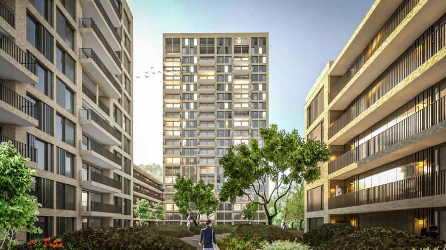 JMW architecten - de Schaloen Moerwijk den Haag