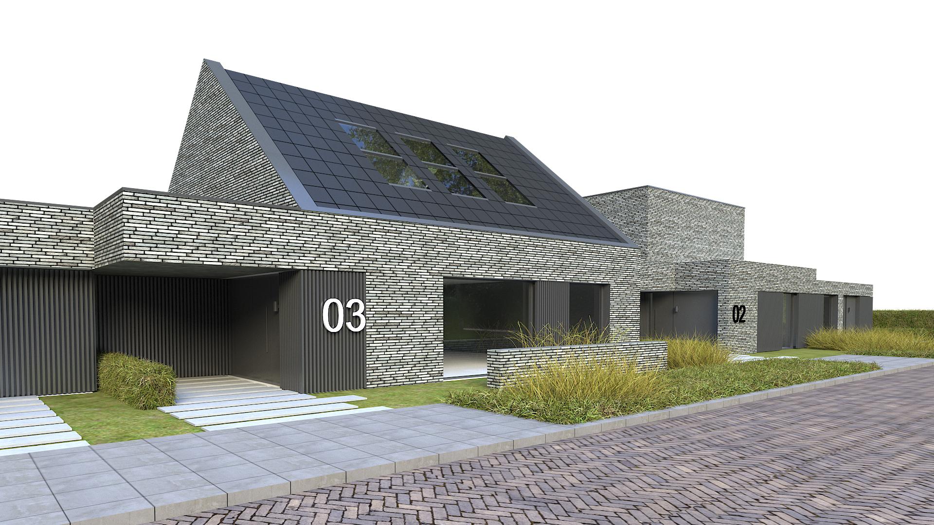 JMW architecten CPO Tilburg