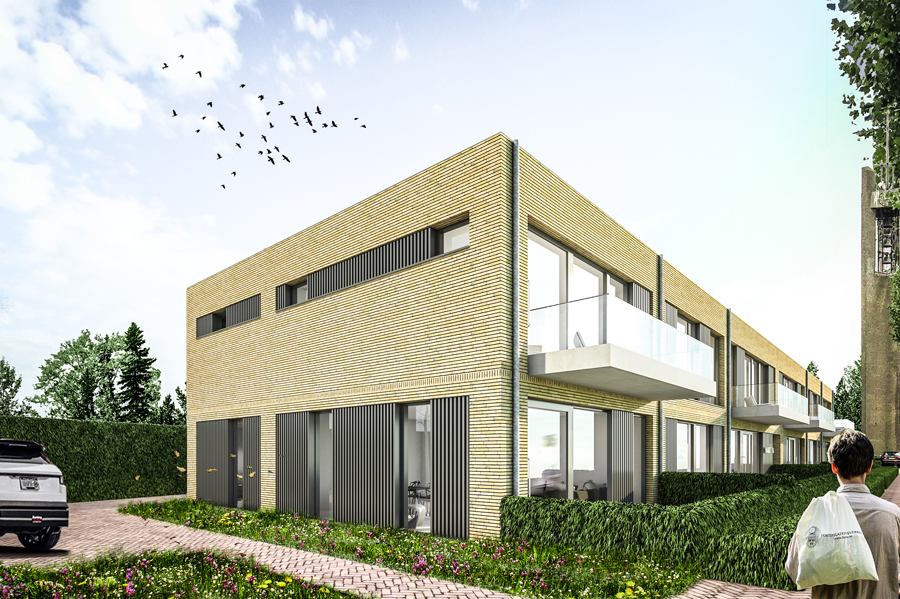 JMW architecten - Markt Prinsenbeek