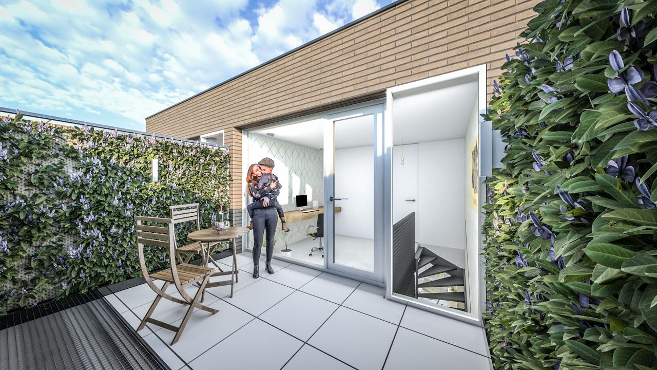 JMW architecten Achter de Muzen van Doorenstraat Tilburg